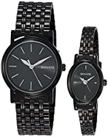 Sonata Black Dial Couple's Watch - 11418100NM01