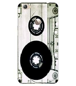 ColourCraft Retro Audio Cassette Design Back Case Cover for LeEco Le 1S