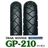 【タイヤ】IRC GP-210 タイヤ前後セット(フロントタイヤ&リアタイヤ)2.75-21 45P WT 4.10-18 59P WT XLR125R ...