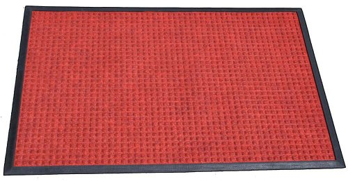 Durable Corporation Polyester Stop-N-Dry Polyester Carpet Mat, for Indoors & Vestibules, 36