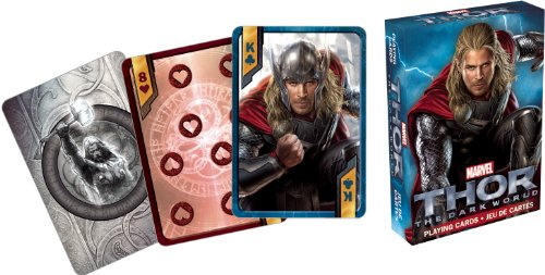 Thor The Dark World Movie Playing Cards - 1