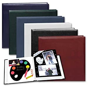 """Pioneer E-Z Load 8"""" x 8"""" Memory Book Photo Album (20 Top Loading Pages)"""