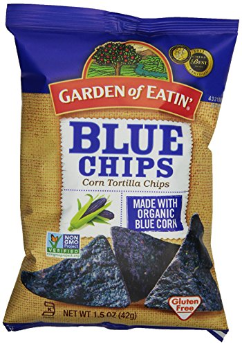 Garden of Eatin' Blue Corn Tortilla Chips, 1.5 Ounce Bags (Pack of 24) (Blue Corn Tortillas Non Gmo compare prices)