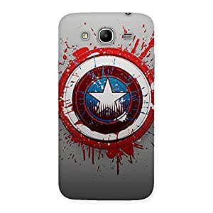 Blood Round Multicolor Back Case Cover for Galaxy Mega 5.8