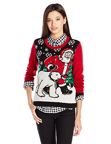 Ugly Christmas Sweater Juniors Light-Up