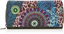Desigual Maria Supersonic Wallet, Green, One Size