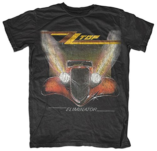 Official ZZ Top - Eliminator T-Shirt for Adults in five sizes.