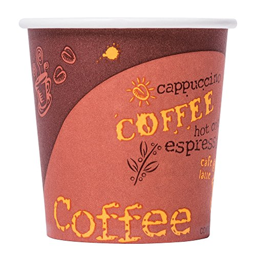 Choice Disposable Paper Hot Cups (50/pk) (4 oz, Coffee) (4 Oz Coffee Cup Disposable compare prices)