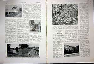 Stampa 1936 del francese della spagna di irrigazione della for Creatore della mappa della casa