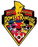 Mighty Morphin Power Rangers Imán del logotipo de coches