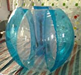 Free Shipping 1.2m/3.9ft Inflatabl Striped Bumper Soccer Ball for Kid's Outdoor Play 0.8 PVC