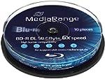 MediaRange MR507 BD-R DL Blu-ray Disc...