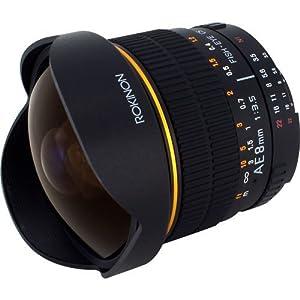 Rokinon 8mm Ultra Wide F/3.5 Fisheye Lens