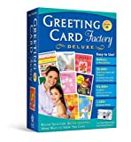 Greeting Card Factory 8.0 Deluxe [Old Version]