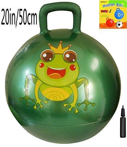 space-hopper-ball-with-air-pump-20in-50cm-diameter-for-ages-7-9-hop-ball-kangaroo-bouncer-hoppity-ho