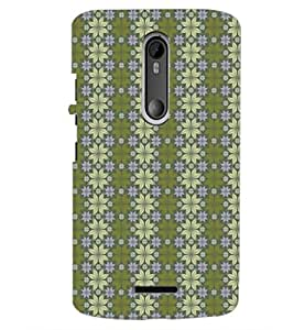 PrintDhaba Pattern D-5257 Back Case Cover for MOTOROLA MOTO X3 (Multi-Coloured)