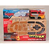 FISHER PRICE DISNEY PIXAR CARS GEOTRAX TRACK PACK WITH TREV - BUILD YOUR OWN RADIATOR SPRINGS