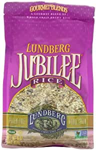 Lundberg Jubilee, Gourmet Blend of Whole Grain Brown Rice, 16-Ounce Units (Pack of 6)