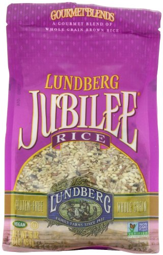 Lundberg Jubilee Rice, 16 Ounce (Pack of 6)