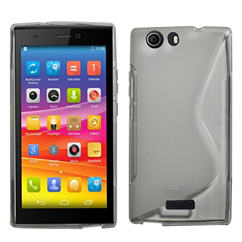 Heartly Thin Premium S-Line Soft Flexible TPU Matte Rugged Bumper Back Case Cover For Micromax Canvas Nitro 2 E311 - Best White  available at amazon for Rs.110
