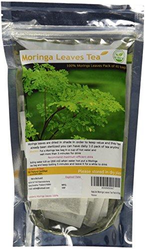 NalLife Moringa Leaves Tea Pack of 40 Bags