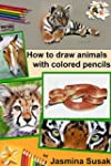 How to draw animals with colored penc...