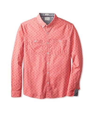 7 Diamonds Men's Touch and Go Dobby Long Sleeve Shirt