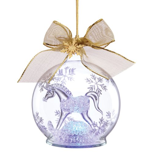 Lenox 2014 Baby'S 1St Christmas Crystal Ornament front-1064954