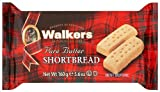Walkers Shortbread Fingers 160 g (Pack of 6)