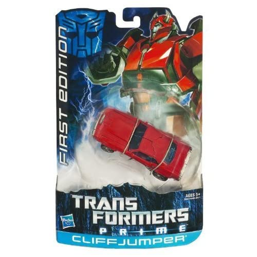 Transformers Prime, Deluxe Class Action Figure, Cliffjumper (First Edition) by Hasbro