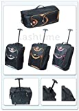 LIGHTWEIGHT SMALL WHEELED HAND LUGGAGE TROLLEY CABIN FLIGHT BAG SUITCASE