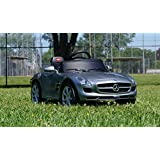 Smartwheels. Battery Operated 12 V Ride On Toy Car For Kids Mercedes Remote Control. - B01C0ZU1YC