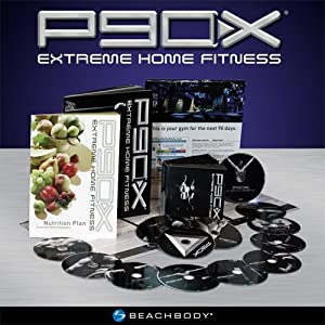 P90X Extreme Home Fitness Workout Program - 13 DVDs, Nutrition Guide, Exercise Planner