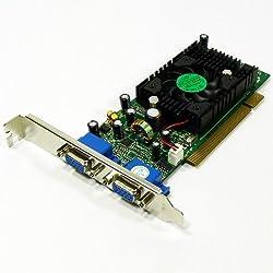 Jaton GeForce FX5200 128 MB Dual Head PCI Video Card