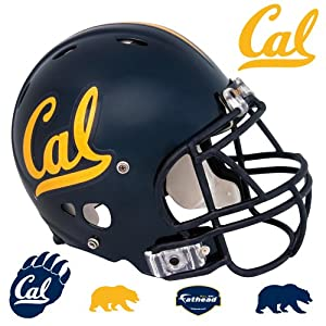 NCAA California Golden Bears Team Helmet Wall Graphic by Fathead