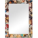 The Attic Minersville Mirror Frame (Glossy Finish, Brown)