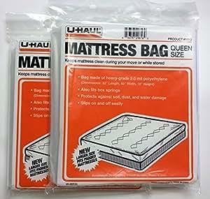 Two Mattress Bag U Haul Brand Full Size Home Kitchen