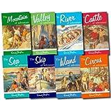 Enid Blyton: Adventure Series 8 book collection set: Island of Adventure, Castle of Adventure, Valley of Adventure, Sea of Adventure, Mountain of Adventure, Ship of Adventure, Circus of Adventure and River of Adventure rrp £39.92