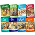 Enid Blyton: Adventure Series 8 book collection set: Island of Adventure, Castle of Adventure, Valley of Adventure, Sea of Adventure, Mountain of Adventure, Ship of Adventure, Circus of Adventure and River of Adventure rrp �39.92
