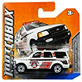 Matchbox Diecast Car Ford Expedition (White) Arctic Expeditions