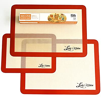Ludy's Kitchen Silicone Baking Mats