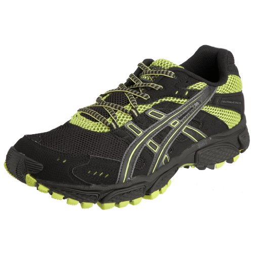 Asics Men's Gel-Trail Attack 6 Running Shoe Black/Onyx/Lime T019N9099 9 UK