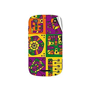 Garmor Designer Mobile Skin Sticker For BlackBerry 9360 - Mobile Sticker