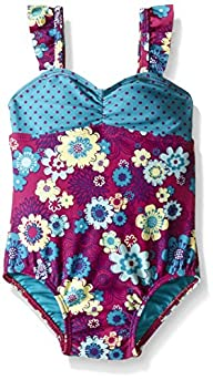 Roxy Baby-Girls Sweet Floral 1 Piece,…