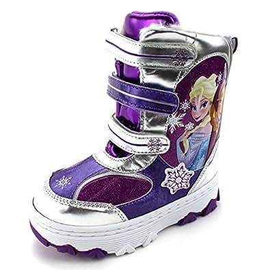 Amazon.com: Frozen Girls Winter Snow Boots: Shoes