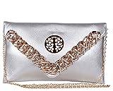 Trendberry Women's Sling & Cross-Body Bag - Silver, TBSB(S)042