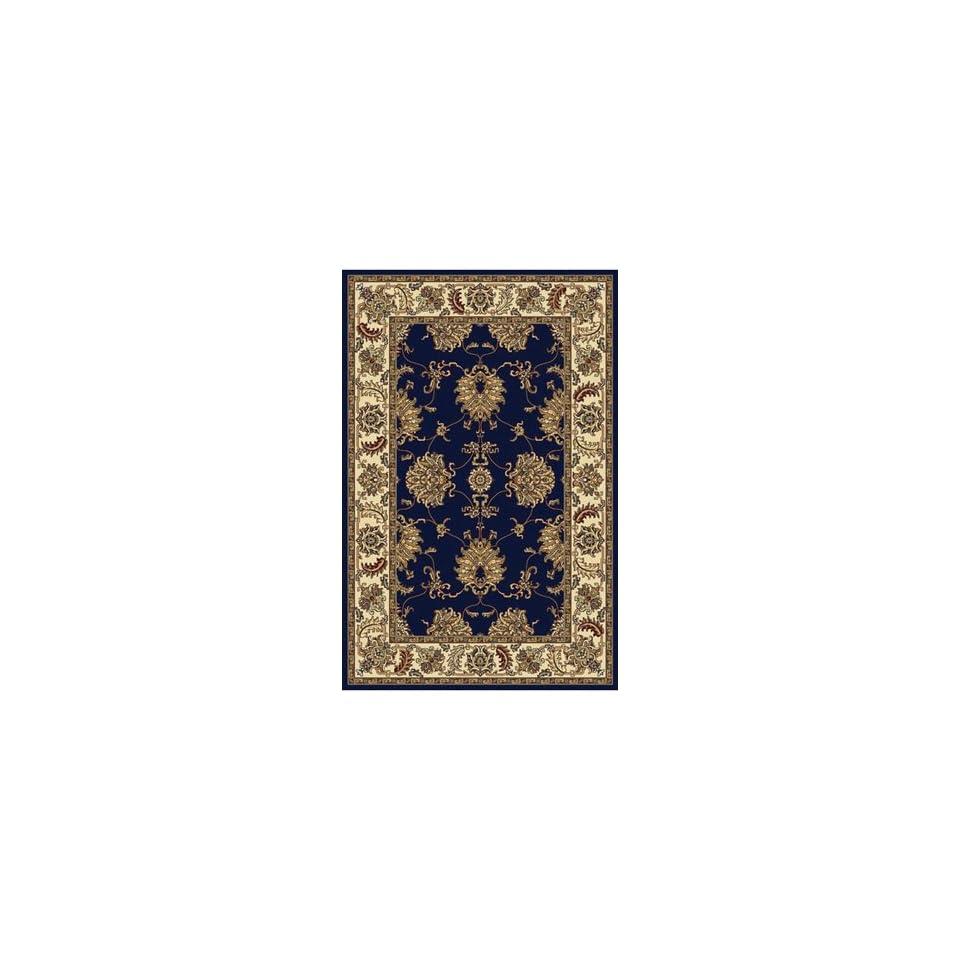 Italia Noble 1330 2 2 x 8 blue Area Rug