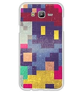 Colourful Square Pattern 2D Hard Polycarbonate Designer Back Case Cover for Samsung Galaxy E5 (2015) :: Samsung Galaxy E5 Duos :: Samsung Galaxy E5 E500F E500H E500HQ E500M E500F/DS E500H/DS E500M/DS