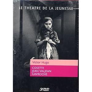 Coffret Le theatre de la jeunesse Victor Hugo : Cosette / Jean Valjean / Ga