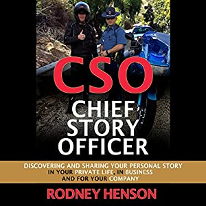 CSO Chief Story Officer Audiobook